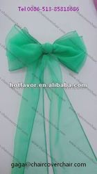 organza cover in green cover for wedding, crystal organza chair sash, wholesale cheap cover china manufacturer supplier