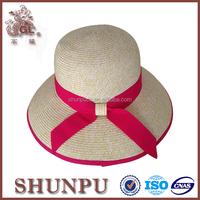 Wholesale Woman Summer Sombrero Straw Hat