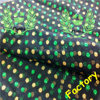 Alibaba china supplier latest two color polka dots yellow and green glitter iran tulle fabric