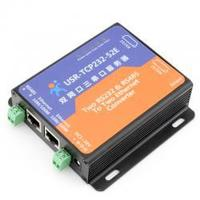 [USR-TCP232-52E] 2 RJ45 Port, TCP/IP Ethernet to RS232 RS485 Converter