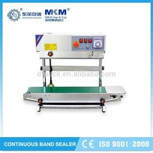 hot selling continuous band sealer machine for food bag packaging DBF-770WL