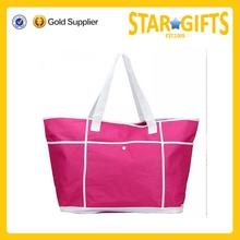 2015 New promotional trendy wholesale big ladies fashion beach handbag
