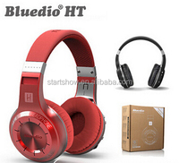 Bluedio HT+ (Plus) Super Bass Stereo Wireless Bluetooth V4.1 Headphone Headset With Mic, Support FM Radio & TF Card Play
