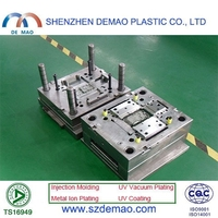 precision plastic injection tablet PC shell mould / mold