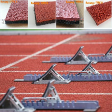 Rubber Track Manufacturer, Running Track Material, Rubber/ Synthetic Running Track -FN-D-150602