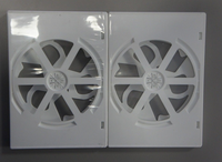 Replacement DVD Case White DVD plastic cover