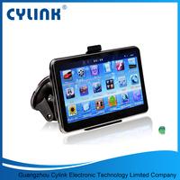 Display solution 480*272 gps navigation system bluetooth reverse camera