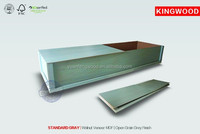 STANDARD GRAY cremation coffins for sale with colors of casket coffin for the dead