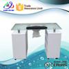 Beauty nail art table lamp/glass nail tables(N015)