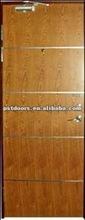 wooden door for villas, BS476 Certificate fire rated door ( Canton Fair: 9.1-L-13, B area)