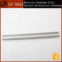 bathroom products extruded aluminum chest of drawer pull, space aluminium accessories door and window handle