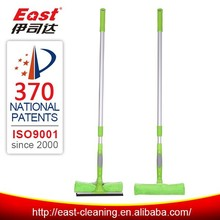 telescopic pole window wiper with squeegee