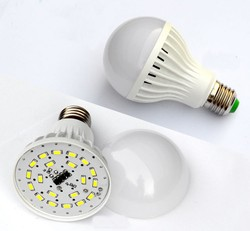 ABS material light bulb energy saving light bulb E27 light bulb