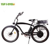 TOP E-cycle 2015 newest cheap Chinese beach cruiser electric bike
