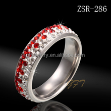 CHINA FACTORY DIRECT HOT SALE fashion jewellery stainless steel ring