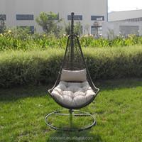 Luxury Patio Rattan Wicker Swing Chair DW-H016