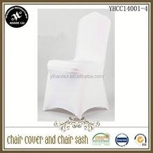 wholesale high quality wedding plain spandex chair cover