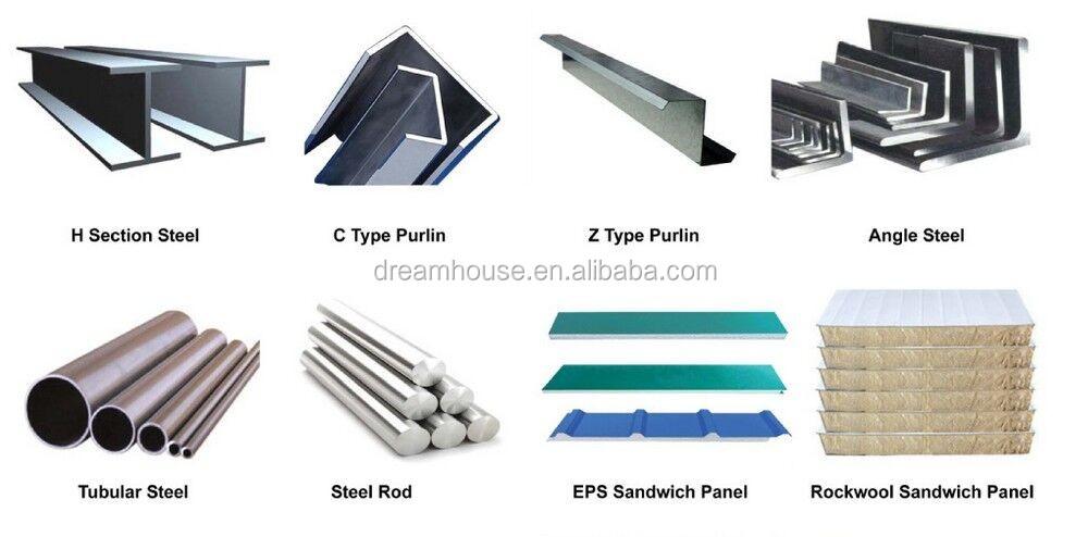 Industria de la estructura de acero prefabricado taller de ...