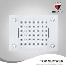 SUS304 Square design shower head top sanitary ware