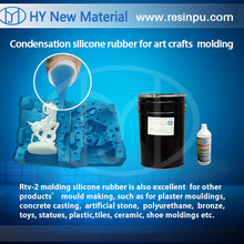 Silicone Rubber for arts molds, alloy toys molds, plastic toy products crafts, stationery, large-scale