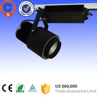 New high power Dimmable cob led track lighting 50w used for Supermarkets Fruits and vegetables lighting