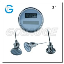 High quality stainless steel solar high precision digital thermometer