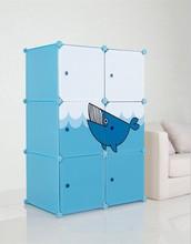 New Style plastic easy to clean easi wardrobe storage closet