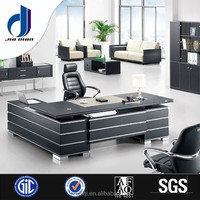 F-05 Modern style high quality contemporary solid wood melamine top executive office director desk for sale