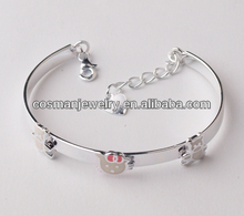 Fahion jewelry for fashion people sterling silver bangle