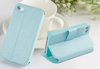 Luxury PU Leather Wallet Stand Case With Card Slot For iPhone 4 4S 5 5S 6 6Plus