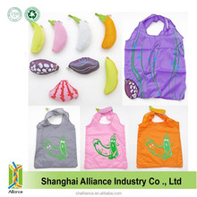 Banana Shape Nylon Portable Reusable Promotional Foldable Shopping Bag