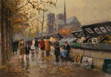 impressionist paris street oil paintings