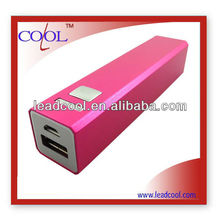 2400mAh External Battery USB Power Bank Charger for iPhone iPad