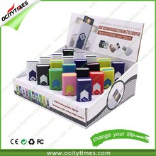China Manufacture rechargeable battery lighter Professional e-cigarette plastic lighter USB Accept Paypal