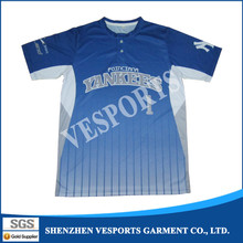 Custom mens Baseball jerseys made in China