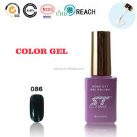 2015 Nail gel with led lamp for wholesale nail art paint uv gel