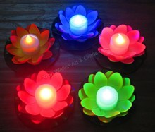 Water lotus lily led lights