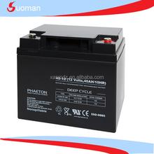 ups lead acid batteries 12v 40ah battery