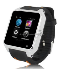 Dual Core CPU Smart Watch S82 watch mobile phone wifi Support camera and video,3G Android Smart Watch
