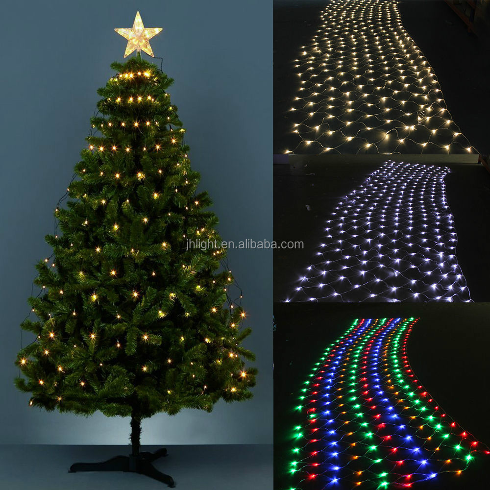 Led net lights for christmas decoration led festoon light for 160 net christmas decoration lights clear
