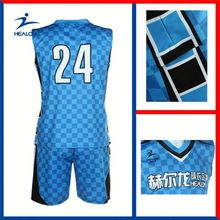 Healong Dye Sublimated Promotion Custom Club Men'S Basketball Jersey