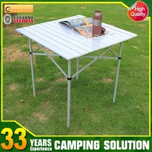 Picnic stainless steel folding ironing table with wheel