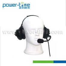 Two-Way Radio Heavy Duty Headset with Removeable Cord for TK-380,TK-390,TK-480,TK-481,TK-5400,TK-3130,TK-3131,NX-200