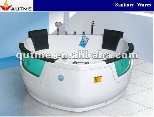 paar whirlpool badewanne mit zwei double seitenscheiben f r zwei personen badewanne produkt id. Black Bedroom Furniture Sets. Home Design Ideas