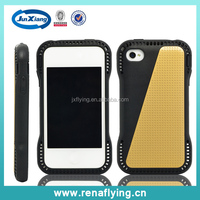 China supplier hard plastic material 2 in 1 creative phone case for iPhone 4G