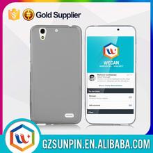 Slim soft transparent tpu mobile phone case for huawei ascend g610