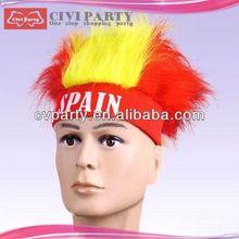 beautiful celebrity hair,chinese hair brown ponytail wig
