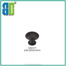 Solid oil rubbed bronze cabinet door handles Wholesale Zinc alloy brass treatment kitchen cabinet door handles