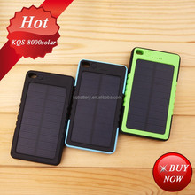 solar car battery charger 8000mah 5V/2.1A