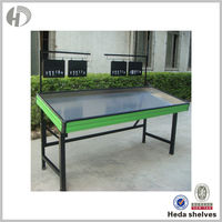 High Quality Corrosion Protection Fruit Vegetable Display Rack